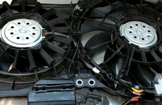 Audi A4 Engine Fan Diagnostic